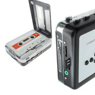 上海問屋、カセットテープ音源をMP3に変換できるプレーヤー