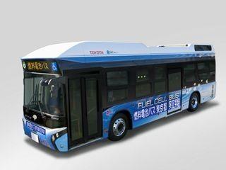 トヨタと日野自動車、東京都で燃料電池バスの実証実験