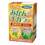 4種の国産柑橘使用の50%果汁飲料「まるごとみかんのチカラ」発売--エルビー