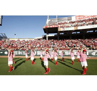 球場で働くカープ女子13人で結成! 球団公認のガールズユニットがデビュー