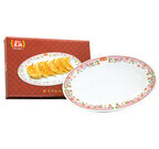 持ち帰り餃子の購入で、「餃子の王将」で使用している皿をプレゼント