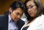 神楽坂恵、安田顕に胸の谷間を凝視され「距離が近くて笑っちゃう」