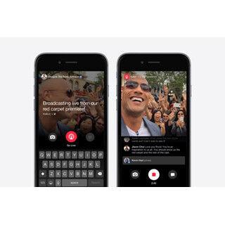 Facebook、著名人専用のアプリ「Facebook Mentions」にライブ動画機能追加