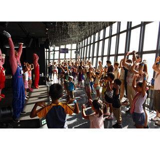 東京タワーで夏休み親子イベント開催 ‐ 150mの展望台でラジオ体操も