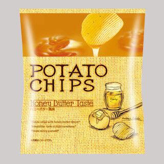ファミマと湖池屋が共同開発した「ポテトチップス ハニーバター風味」発売
