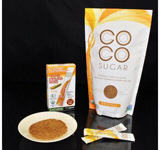 砂糖と同等の甘さで、GI値も低い有機ココナッツシュガーが発売
