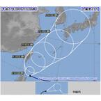 台風第15号の進路情報発表 - 26日に西日本上陸か