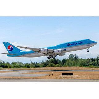 大韓航空、ボーイング747-8旅客機の初号機受領 - 貨物機と共に保有は世界初