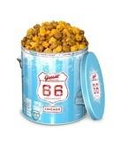 ギャレットポップコーン、「シカゴピザ」発売 - 創業66周年の記念缶も登場