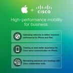 米Apple、エンタープライズ分野でCiscoと提携