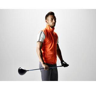 中田英寿、デサントゴルフのWebサイトに登場