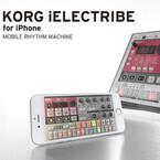コルグ、iPhone用リズムマシンアプリ「KORG iELECTRIBE for iPhone」発売