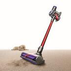 ダイソン、カーペットのゴミをかき出すスティック型掃除機「V6 Animalpro」