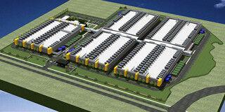 NTTコム、米テキサス州に2万5,000ラック相当のデータセンター建設を開始