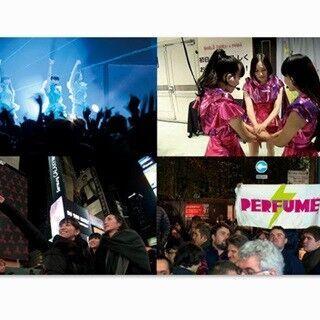 Perfume、邦画ドキュメンタリー史上初の日米同時公開! 3人から感激コメント