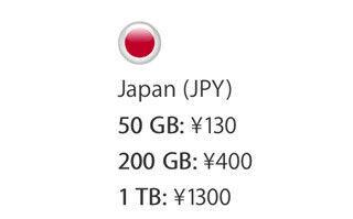 iCloudの新ストレージプラン公開、50GBが月額130円に