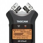 TASCAM、24bit/96kHz対応リニアPCMレコーダー「DR-07MKIIJ」発売