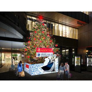 """東京都・渋谷ヒカリエに""""DREAMS COME TRUE""""コラボのクリスマスツリー登場!"""