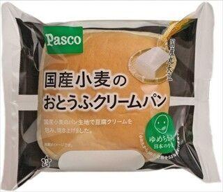 敷島製パン、「国産小麦のおとうふクリームパン」など地域限定発売