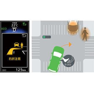 トヨタ、近日発売の車種にITS専用周波数による運転支援システムを搭載