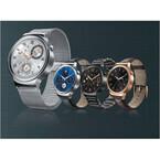 ファーウェイ、クラシカルな円形スマートウォッチ「Huawei Watch」16日発売