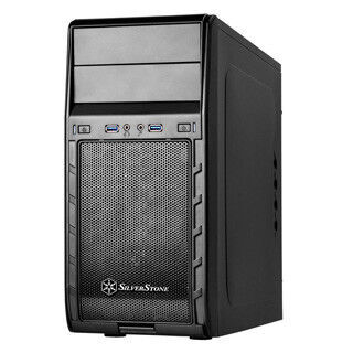 SilverStone、コスパ重視のミニタワーケース「SST-PS12B」