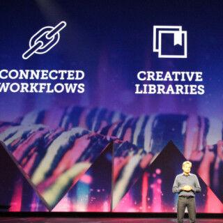 アドビが提唱するモバイル×デスクトップの新ワークフロー - Adobe MAX 2015基調講演