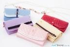 『魔法少女まどか☆マギカ』、メインキャラをイメージしたコラボ長財布