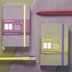 モレスキン、ファブリックカバー採用の「ブレンドコレクション」を限定発売