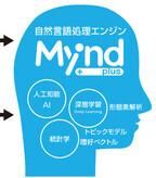 ブレインパッド、自然言語処理エンジン「Mynd plus」リリース