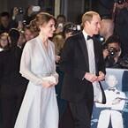 ウィリアム王子&キャサリン妃、『007 スペクター』ロイヤルプレミアに登場