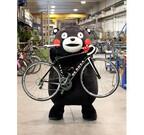 くまモンカラーの自転車が登場! デ・ローザがワンオフモデルを制作