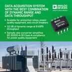 ADI、スマートグリッド送配電機器監視向けデータアクイジションSoCを発表