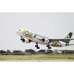 エバー航空、ハローキティづくしの「ハローキティジェット」を関空線に投入