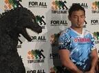 日本ラグビー最高峰トップリーグの応援キャラクターに「ゴジラ」が就任