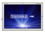 20型4KタブレットPC「TOUGHPAD 4K」にWindows 10 Pro/7 Professionalモデル
