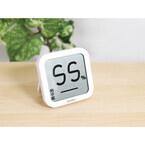 インフルエンザの危険度を表示するデジタル温湿度計が発売