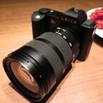 フルサイズミラーレス機「ライカSL」がお披露目 - しっくり手になじむカメラ