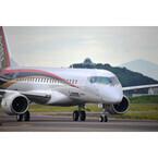三菱航空機、MRJ初飛行の動画公開 - 離陸から着陸まで