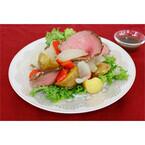 東京都・日本橋に「Salad Cafe」期間限定オープン - Xmas向けサラダも