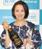 高橋由美子、博多の屋台で一人酒「おごってもらえる回数が多い」と笑顔