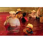 神奈川県・ユネッサンで「ボージョレ・ヌーボー風呂」解禁中! 美肌効果も