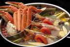東京都・恵比寿のカニ専門店、27種類の薬味を使用した海鮮薬膳2色鍋を提供