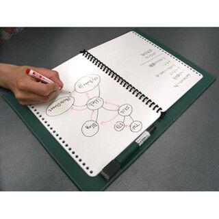 ノート型ホワイトボードにひらめきを記録!? - 職場で使えるエコ文房具3選