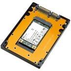 ProjectM、mSATA/M.2 SSDを2.5インチSATA化または外付け化するアルミケース