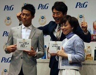 テニス・錦織圭と卓球・石川佳純、P&G「ママの公式スポンサー」日本代表に
