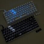 上海問屋、黒軸/青軸スイッチを採用するフレームレスデザインのキーボード
