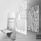 Autodesk、ジェネレーティブデザインを用いた航空機のパーテーションを公開