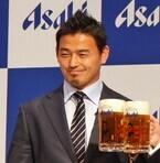 五郎丸歩がアサヒビールとパートナーシップ契約