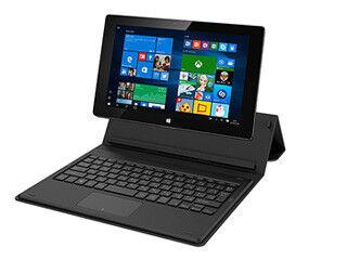 富士通、630gの10.1型タブレットPC - キーボード一体型カバー付属